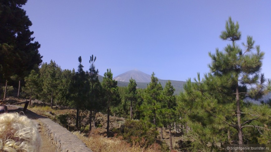 вулкан Teide