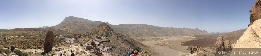 панорама в парке Teide