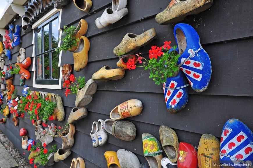 домик национальной обуви Голландии кломпы