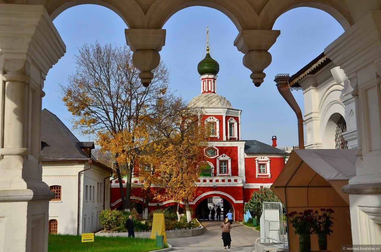 кто-то где находится зачатьевский монастырь в москве фото этому событию