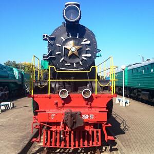 Брест. Музей железнодорожной техники.