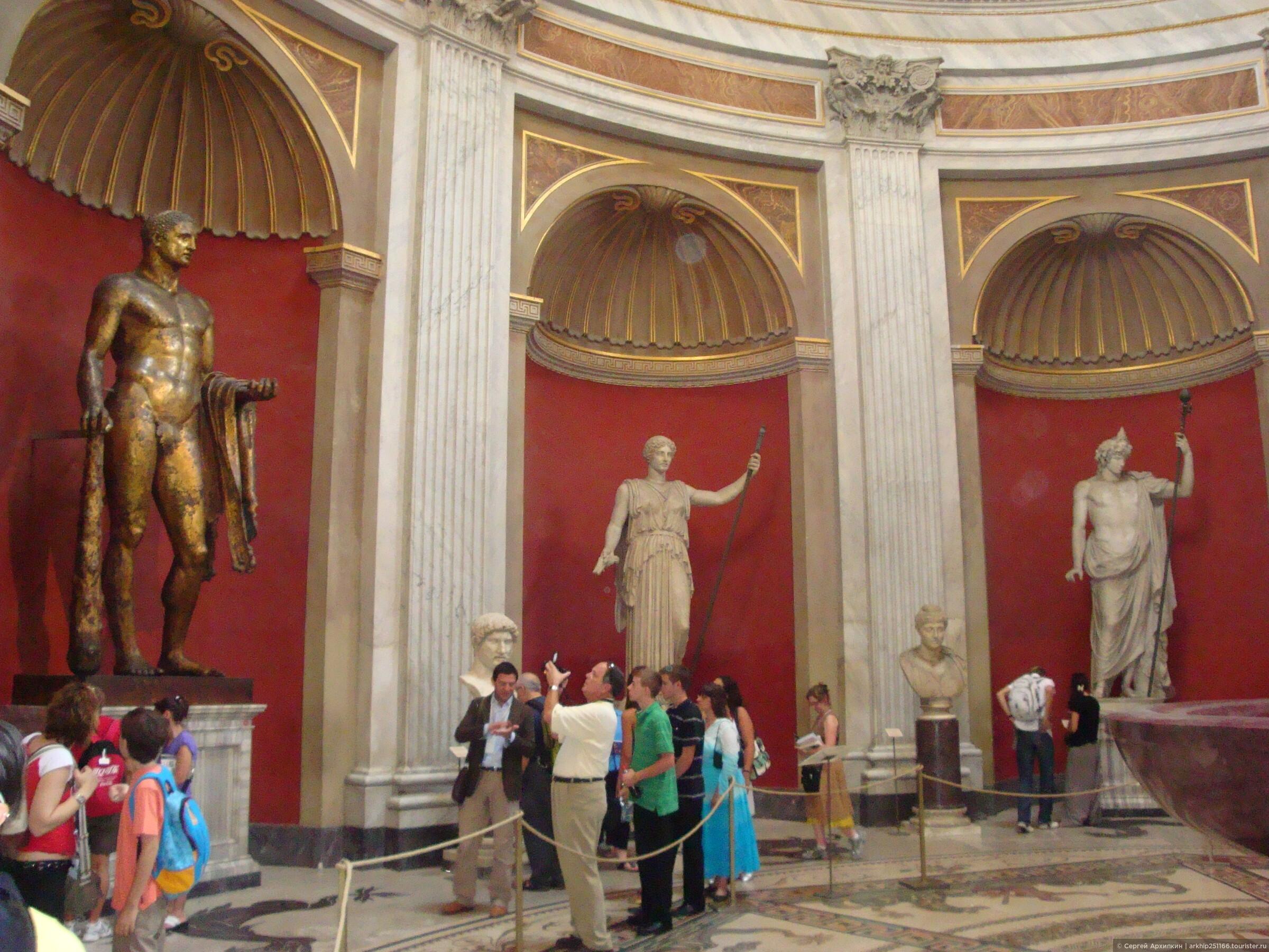 В Риме надо посмотреть 5 его лучших музеев.