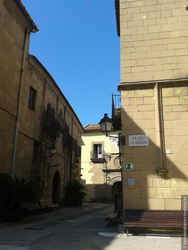 Улочки Испанской деревни.