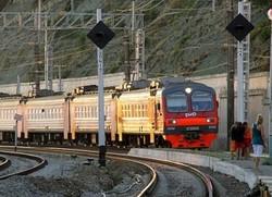 РЖД сокращает количество электричек до аэропорта Сочи