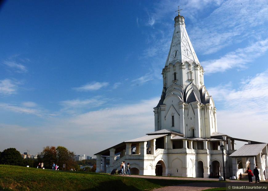 Церковь Вознесения Господня. Великолепный образчик каменного шатрового стиля.