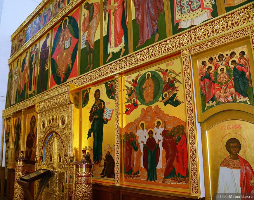 Иконостас Вознесенской церкви.