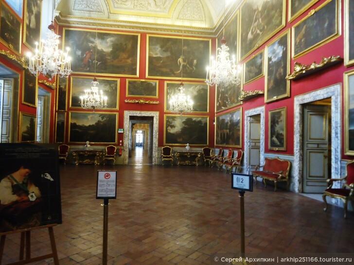 В Риме надо посмотреть дворцы (палаццо) местной знати (кардиналов и князей)