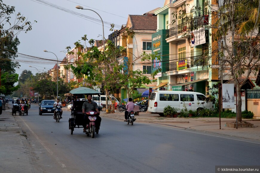 Улицы Камбоджи.