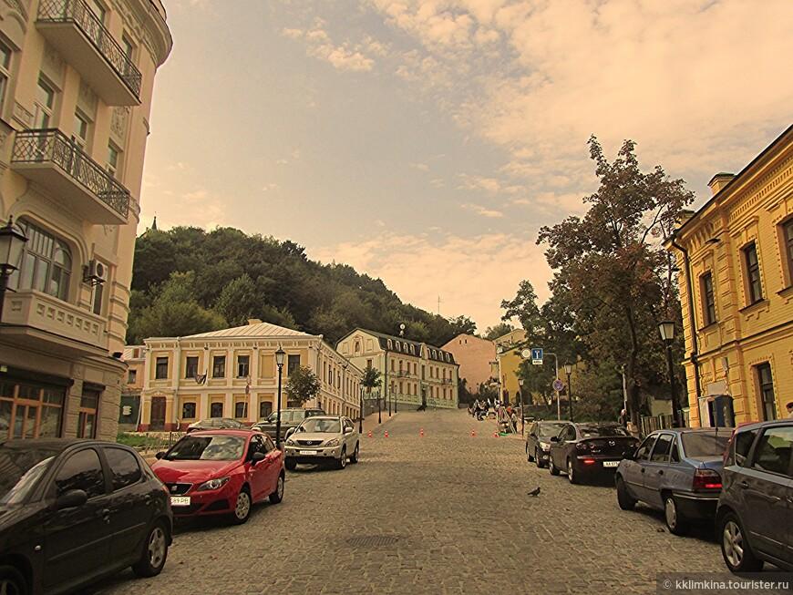 Андреевский спуск. Самая красивая улица Киева.