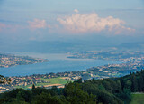 Виды с горы Утлиберг на Цюрих и окрестности