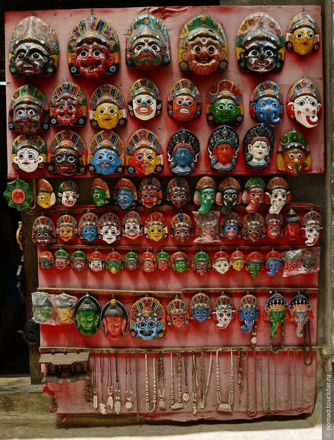 Непальские маски.