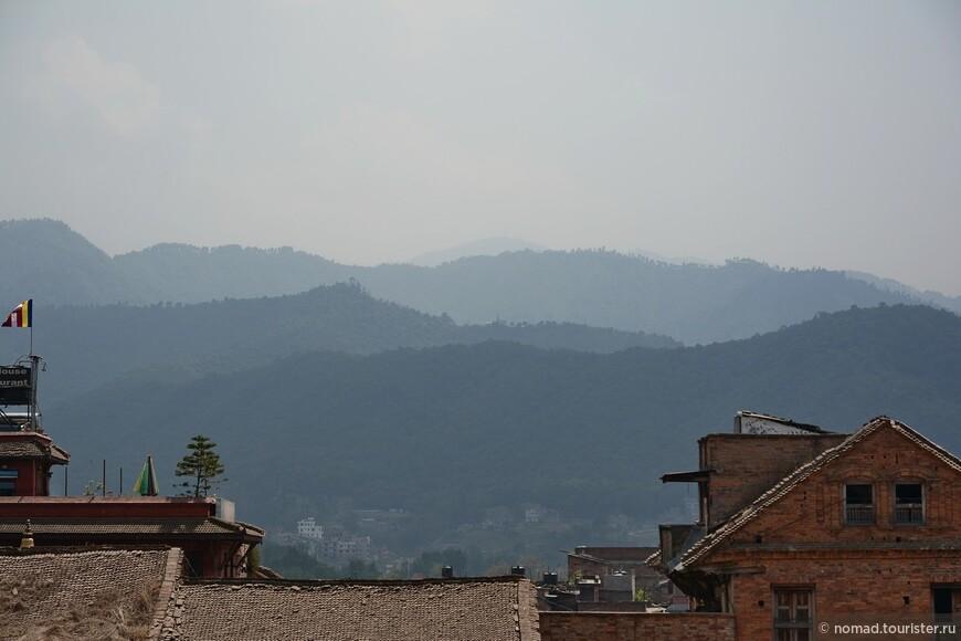 Вид с Храма Ньятапола