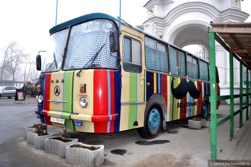 Сколько в Киеве всего необычного.