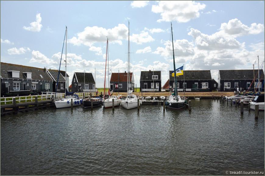 Уютная маленькая гавань Маркена.