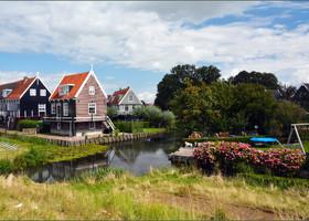 Маленькая Голландия: остров Маркен