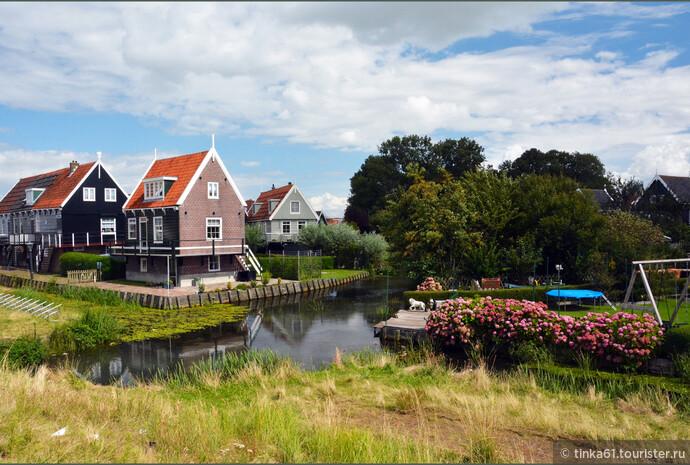 Живописные домики острова.