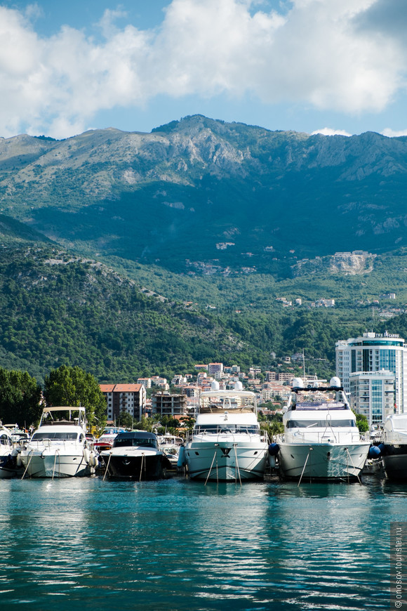 """Яхты в черногории на каждом """"углу"""""""