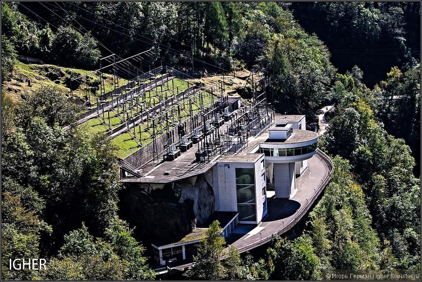 это сама гидроэлектростанция