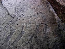 В Мурманской области прокладывают маршрут к наскальным рисункам эпохи неолита