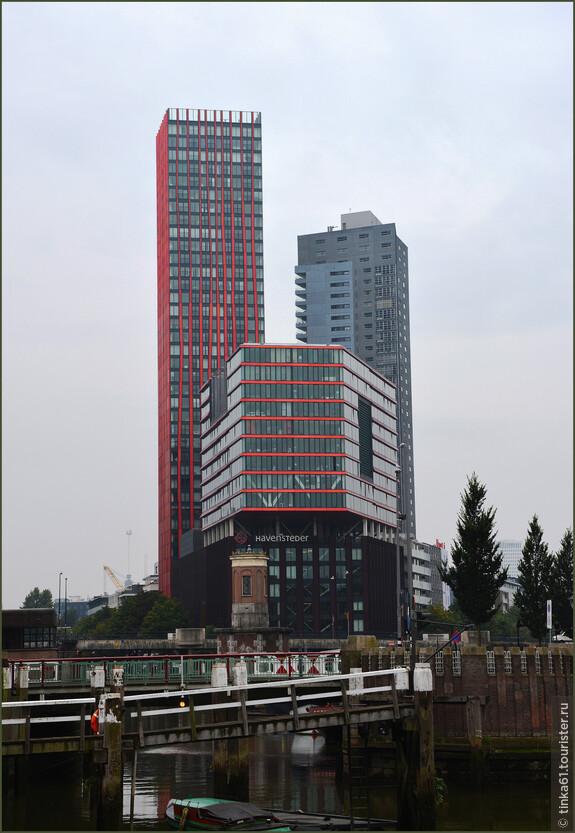 Здание Red Apple. Этот жилой небоскреб появился здесь в 2009 году.