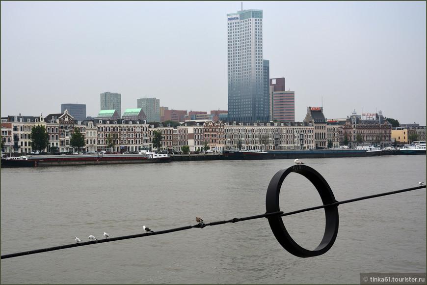 Башня Maastoren, на сегодняшний день - самое высокое здание в Нидерландах.