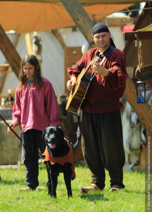 Праздник средневековья в Гослар, Германия