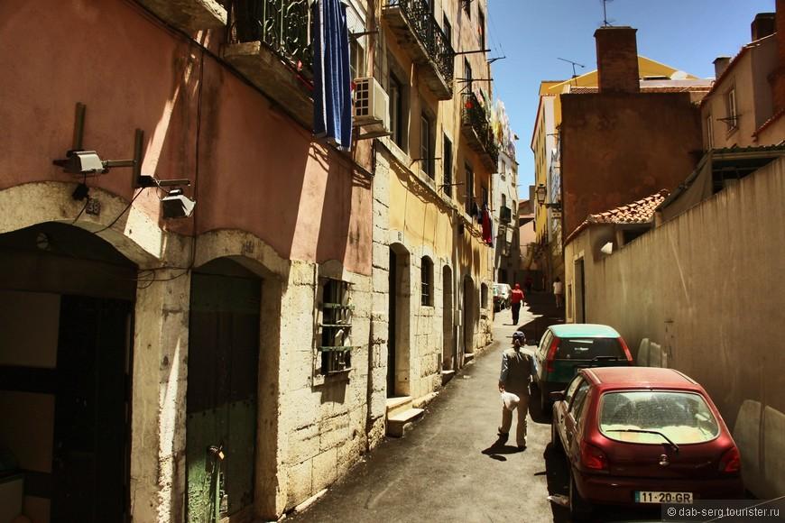 Алфма. Самый известный исторический район Лиссабона