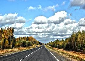 Из Петербурга в Архангельск на авто
