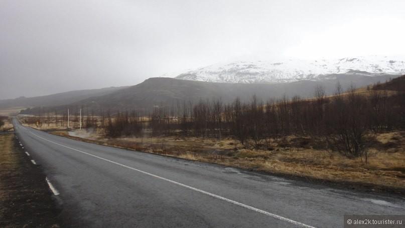 Дорога в долину Гейзеров.