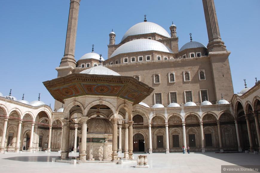 мечеть  Мухаммеда Али (гипсовая мечеть) в Цитадели