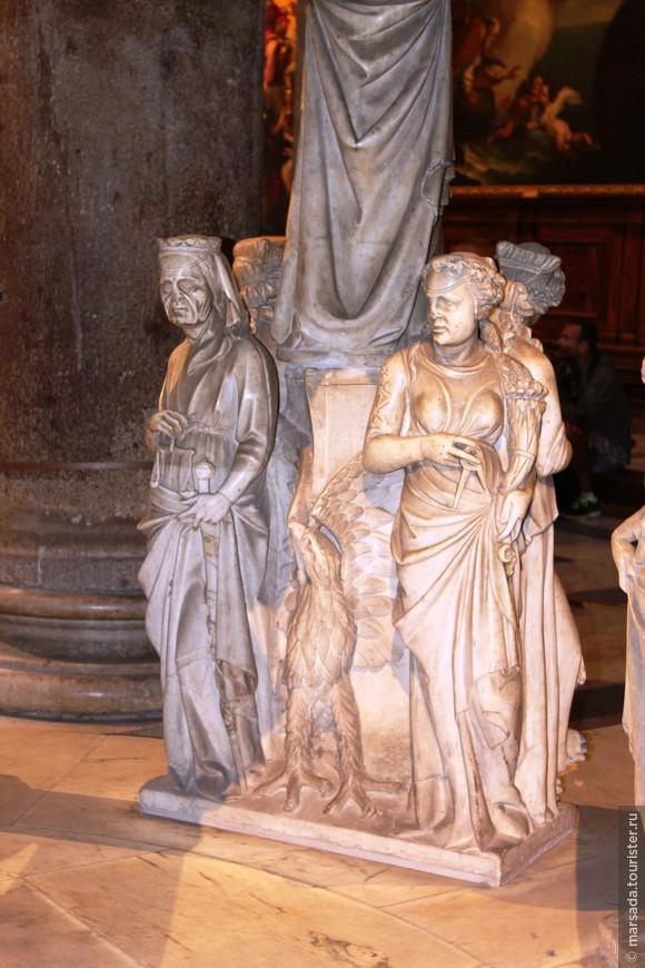 Меня сразила точность выражений лиц скульптур