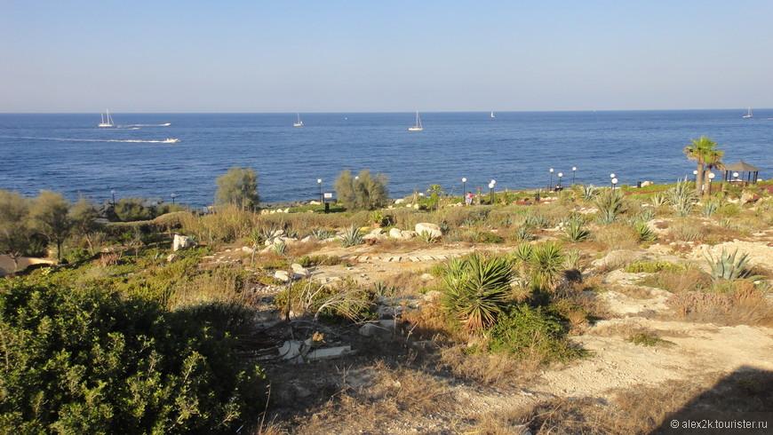 Типичный мальтийский пейзаж.