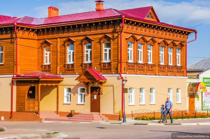 Дом купца Ширина Г.К. Построен в конце ХIХв. Объект культурного наследия. Охраняется государством