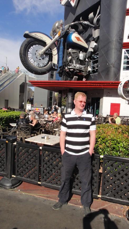 Лас-Вегас. Hard Rock cafe.