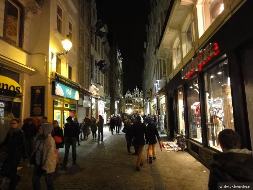 Брюссель вечерний.