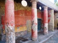 Геркуланум, город убитый Везувием.