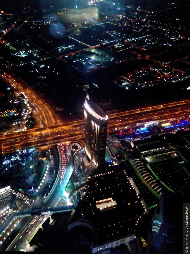Вид с самого высокого здания мира