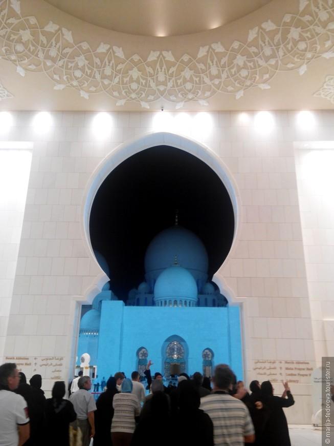 Главная мечеть в Абу Даби
