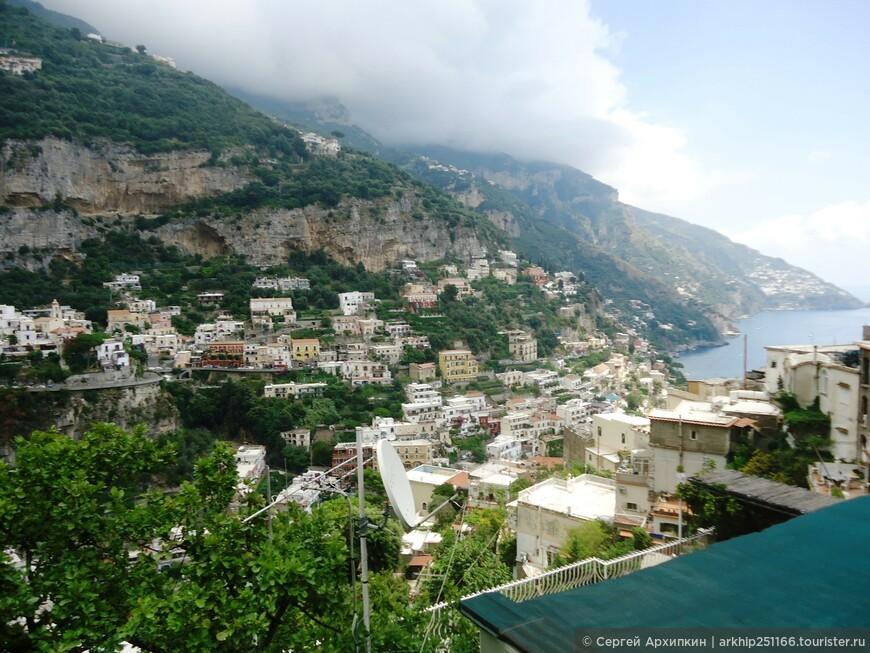 В Позитано всего проживает - 3тыс 800 местных жителей.