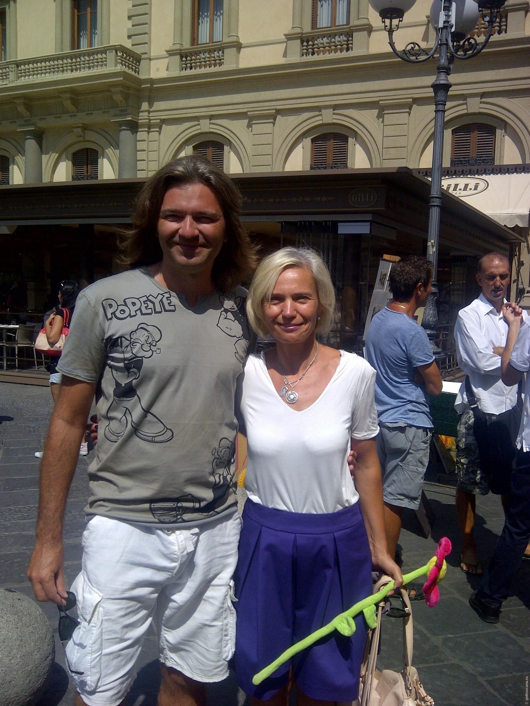 Русскоговорящий гид с Дмитрием Маликовым по Флоренции , Мои фото