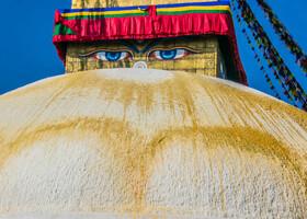 Ступа Боднатх. Катманду. Непал