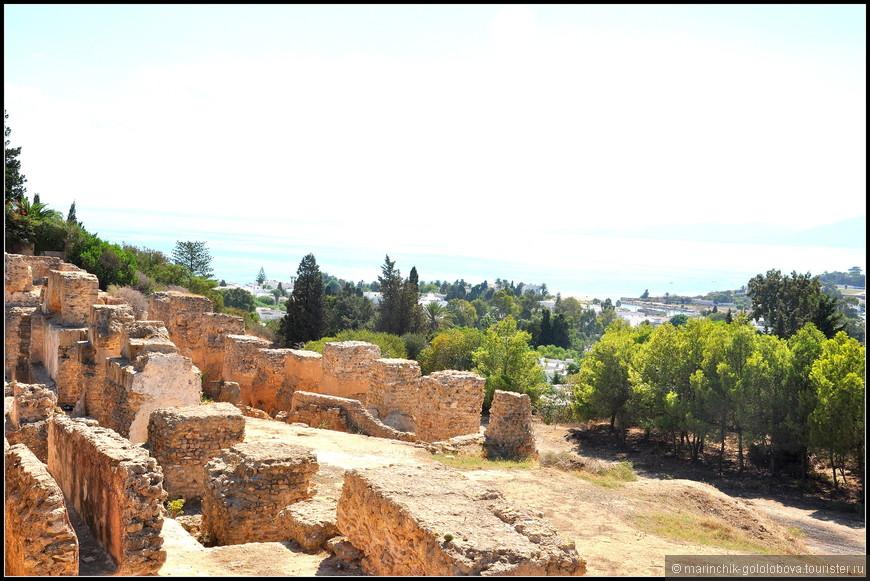 Карфаген когда-то был древним финикийским городом, который правил почти всем средиземноморьем.