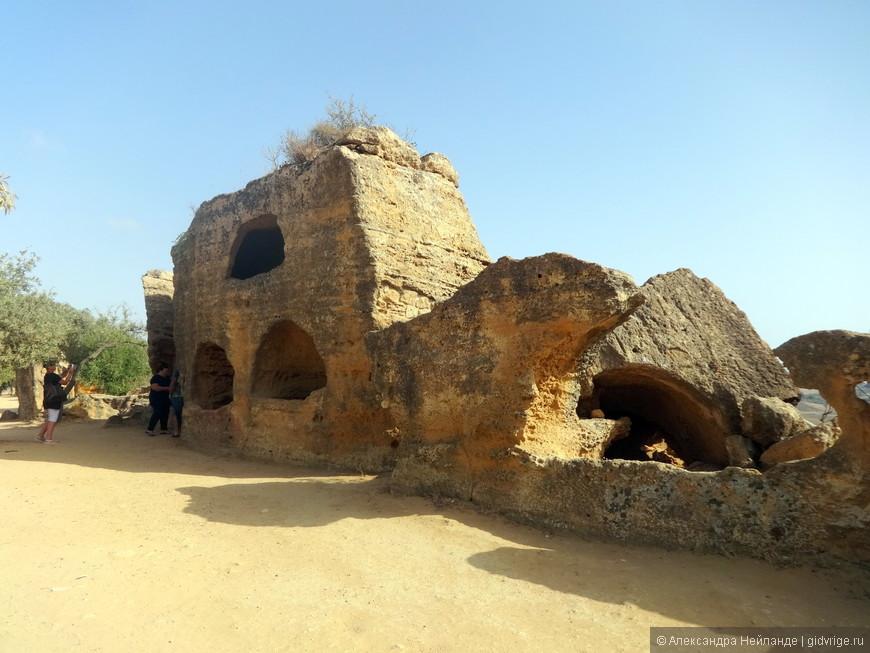 Кладбище первых христиан.