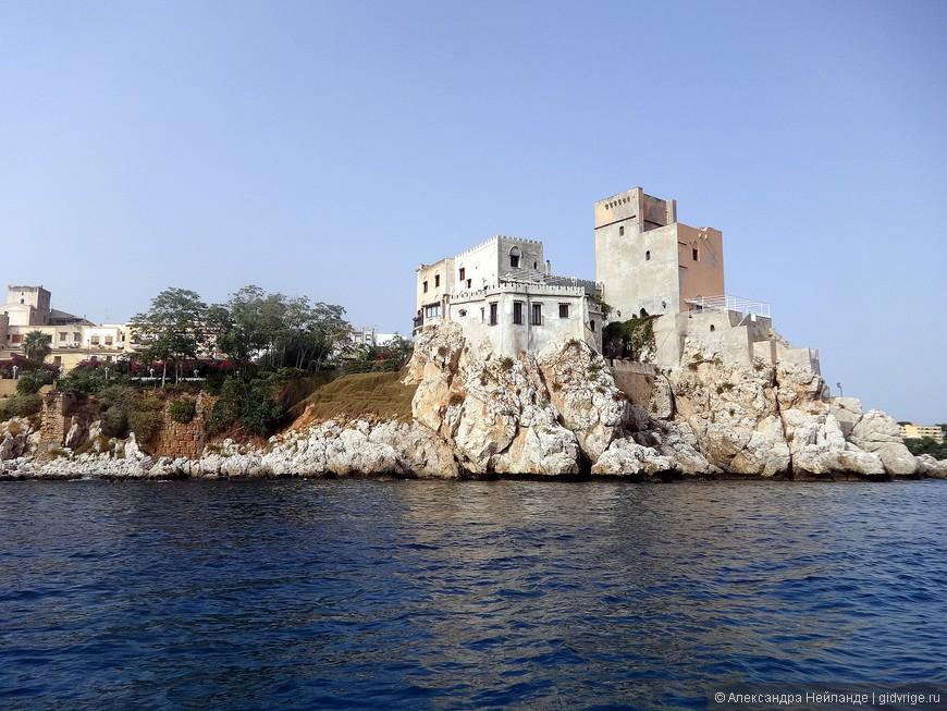 Вид на крепость Соланто