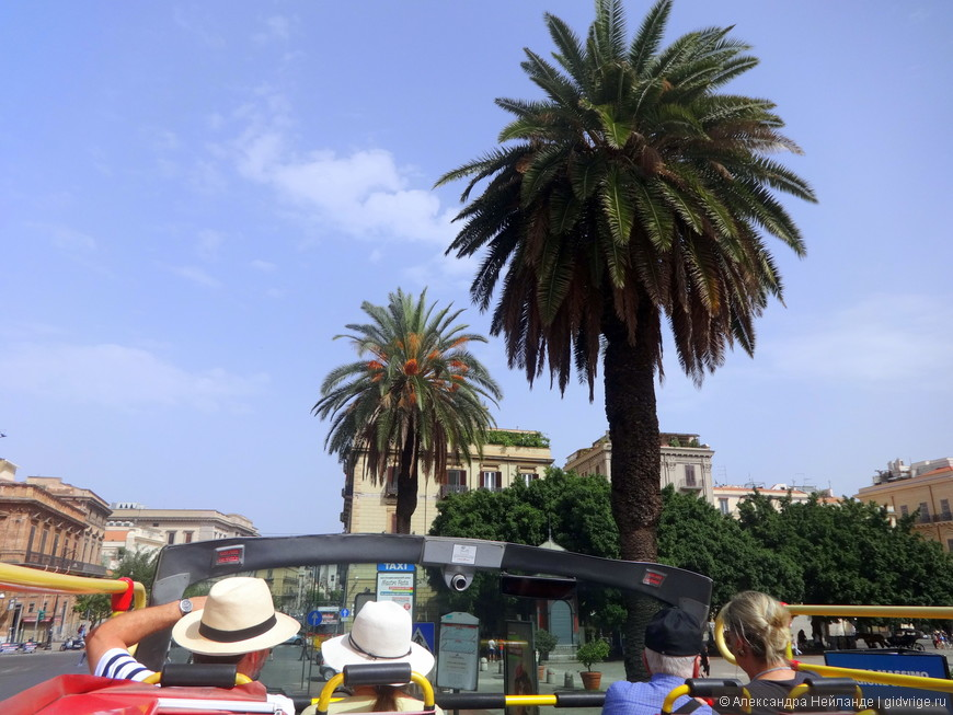 Когда у Вас всего полдня на осмотр Палермо, лучше всего взять автобусный тур по Палермо, включающий осмотр городка Монреале.