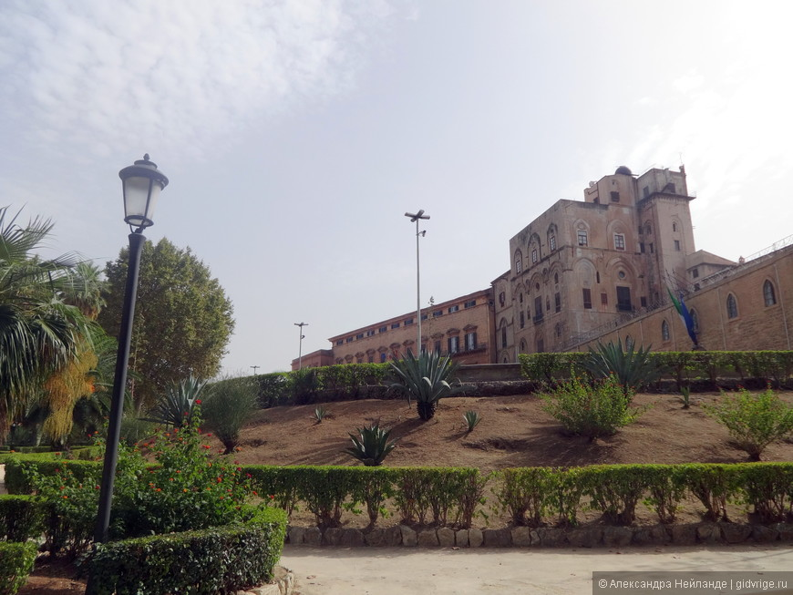 Дворец Норманнов - местный парламент