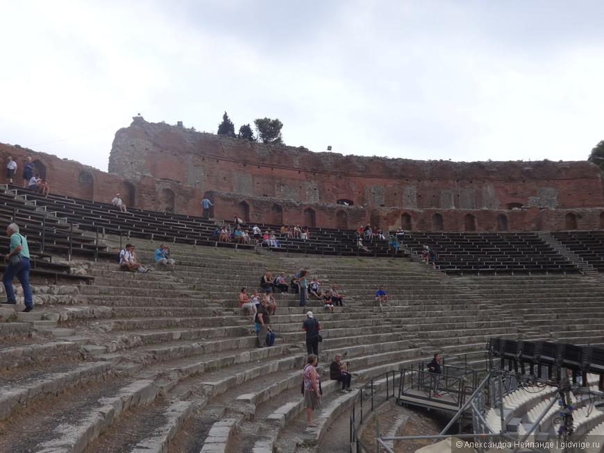 Греческий театр, усовершенствованный римлянами