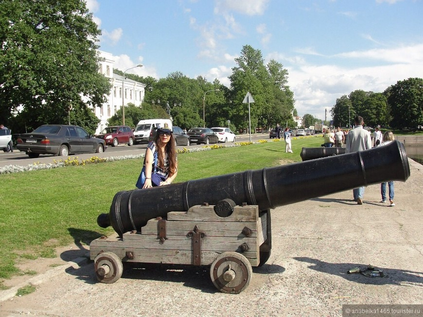 Пушка с форта Павел I