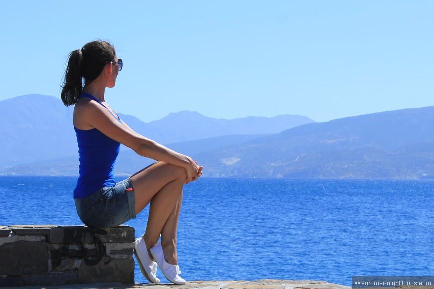 Здесь самое синее море... (Айос-Николаос)