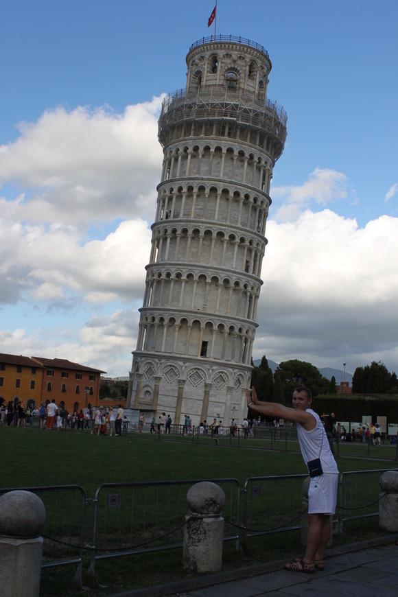 Италия.Пиза 2010